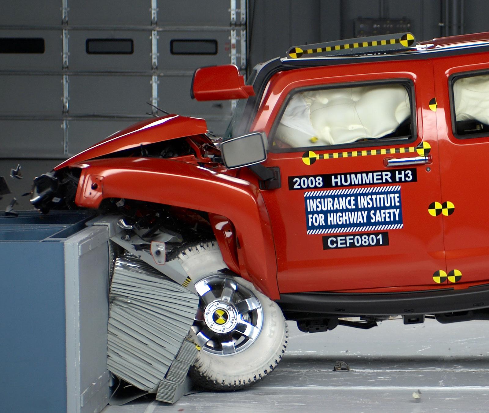 Hummer H2 Crash Test Rating