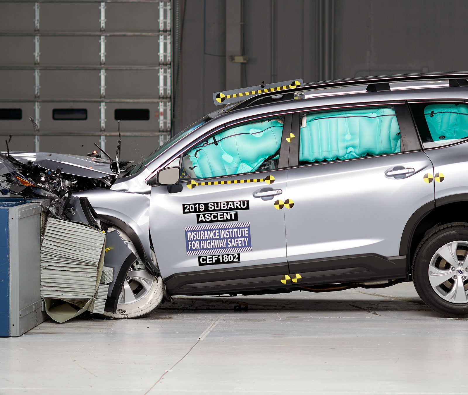 Iihs Safety Ratings >> Top Safety Pick 2019 Subaru Ascent 4 Door Suv With Specific