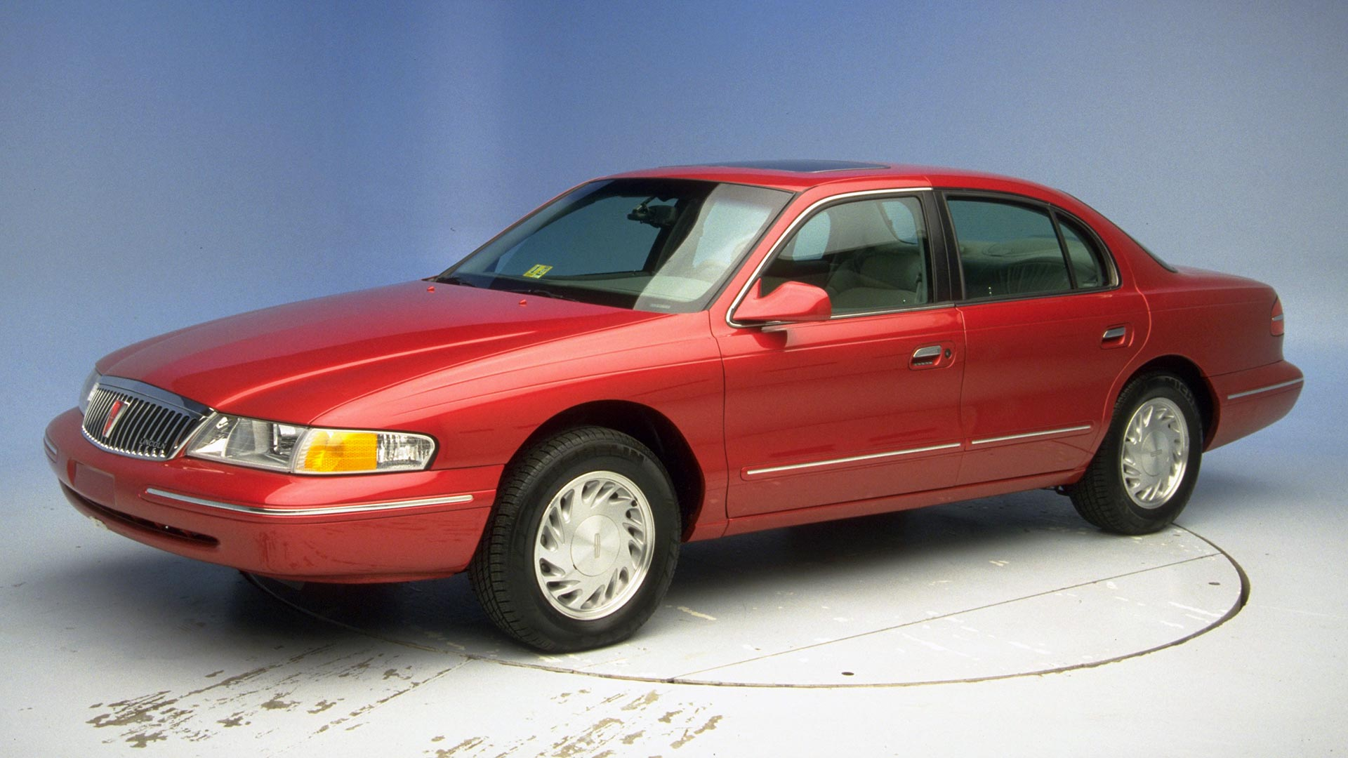 1998 Lincoln Continental 4-door sedan