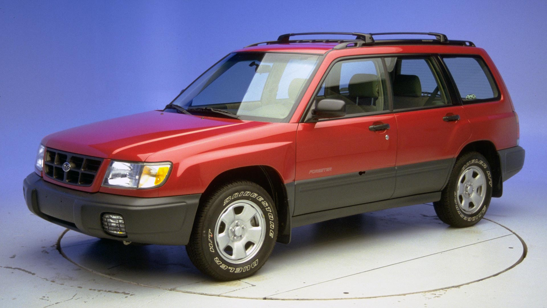 2000 Subaru Forester 4-door SUV