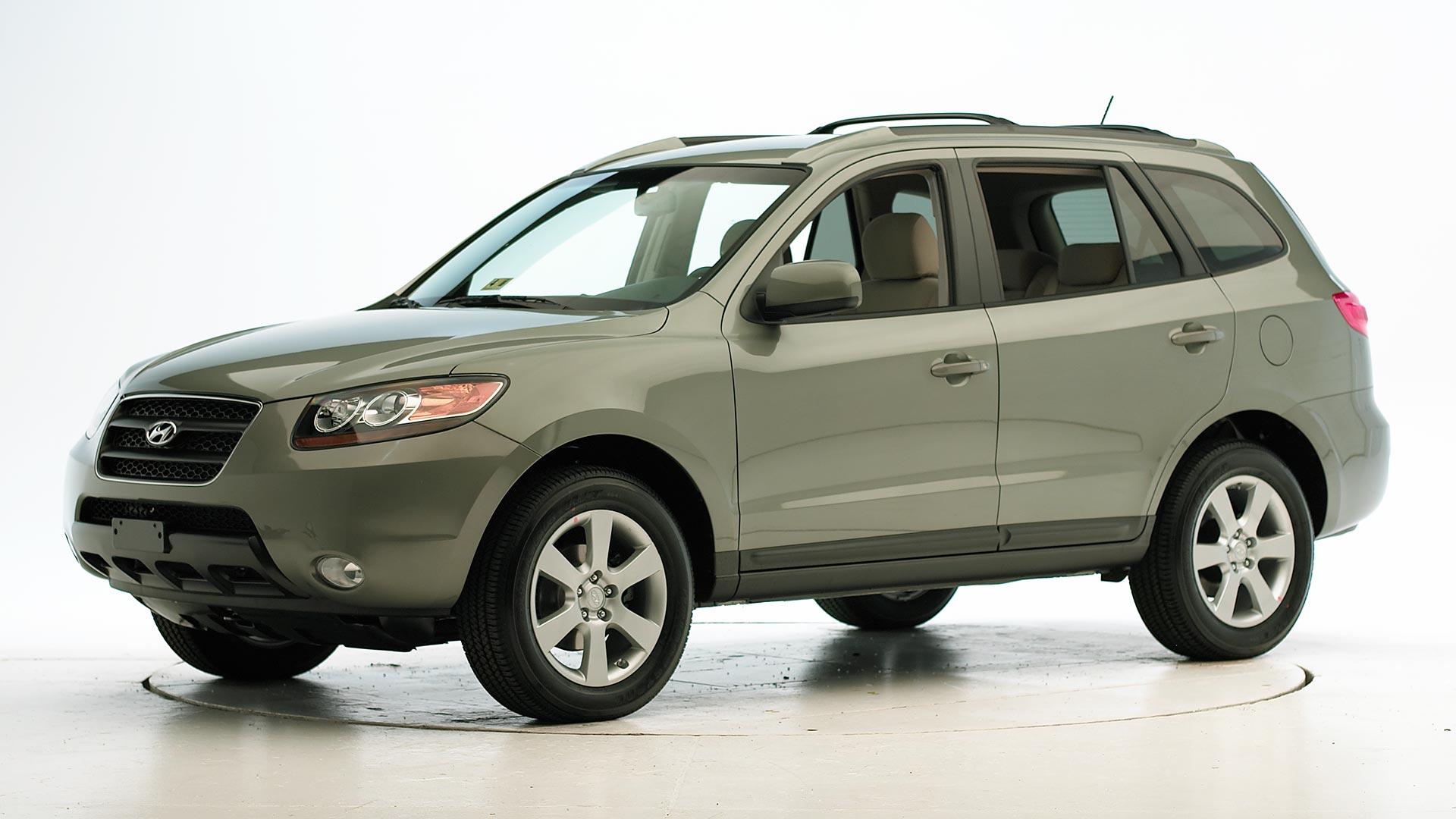 Santa Fe Suv >> 2009 Hyundai Santa Fe