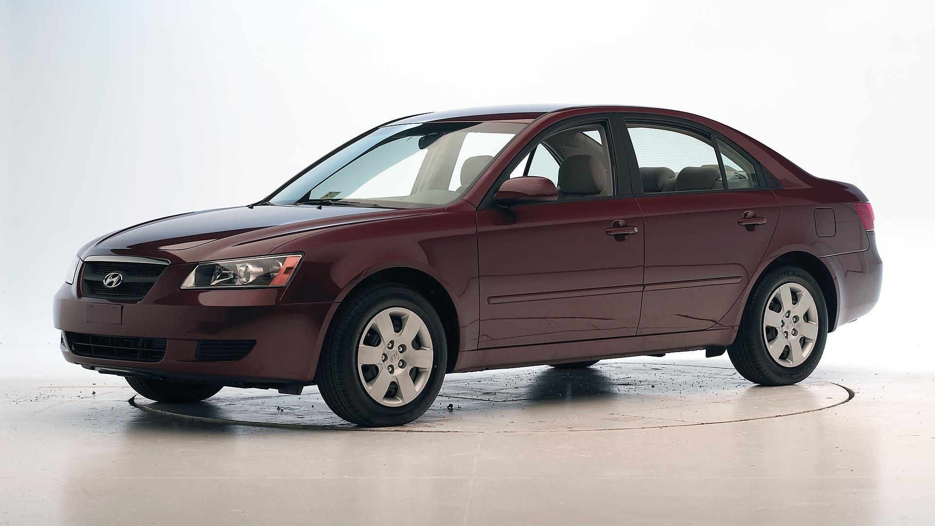 2008 Hyundai Sonata 4 Door Sedan