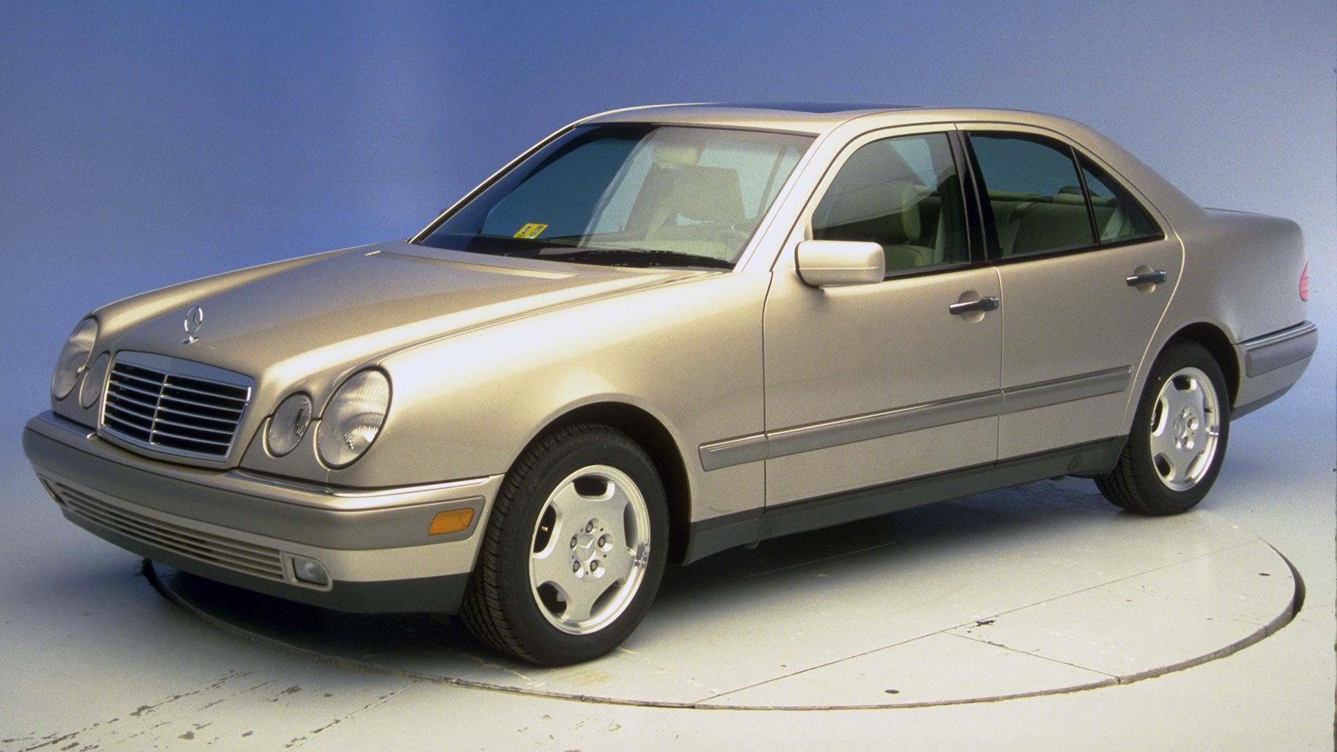1997 Mercedes-Benz E-Class 4-door sedan