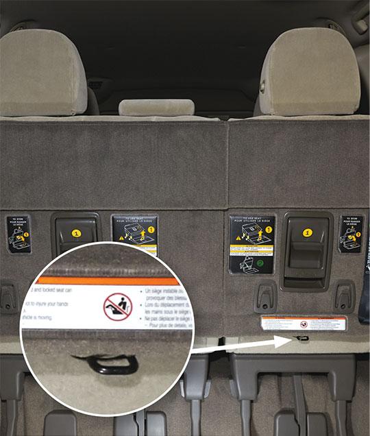 Toyota Sienna Latch Car Seats