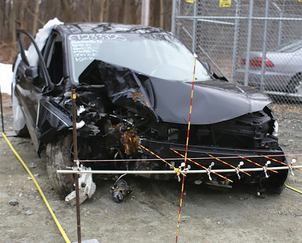 Real-world crash image
