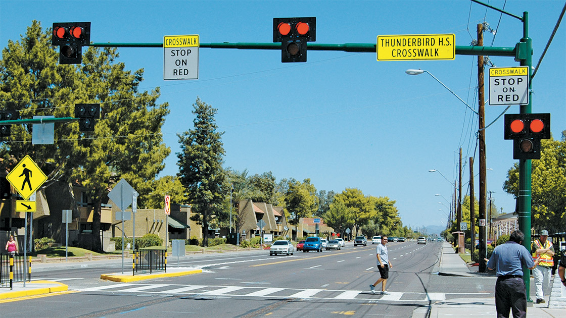 Iihs Safety Ratings >> HAWK signal improves crosswalk safety
