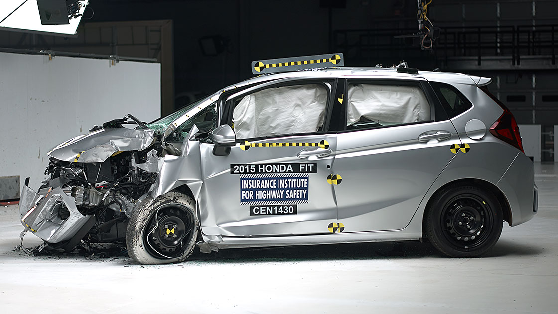 Honda Fit Overcomes Setback In Small Overlap Test