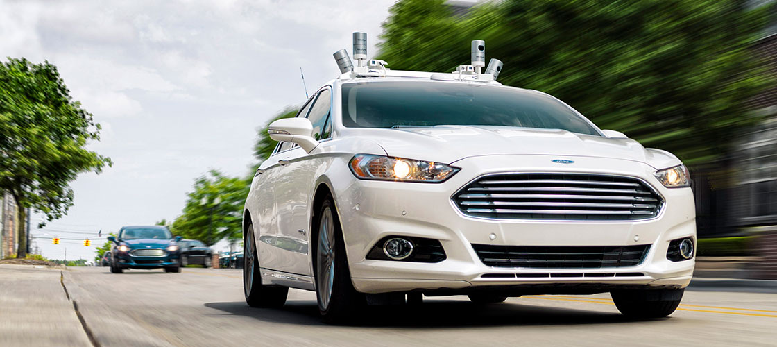Ford Fusion Level 4 hybrid car