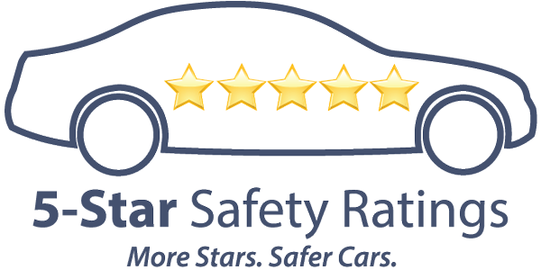 NHTSA 5-star rating logo