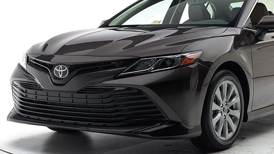 The Redesigned Toyota Camry Has An Improved Front Crash Prevention System That Now Comes Standard And All Its Available Headlights Earn Either A Good Or