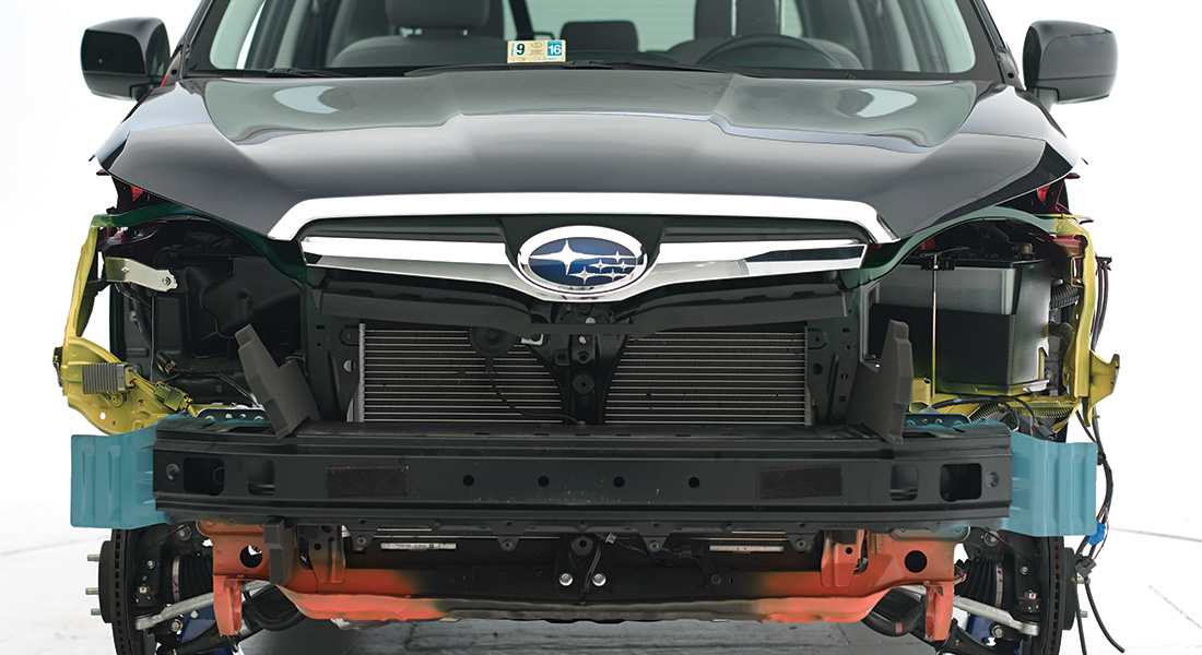 Forester symmetrical appearance