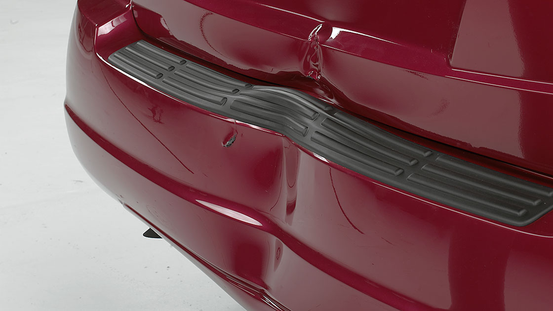 A Car S Bumper Is Designed To Withstand A