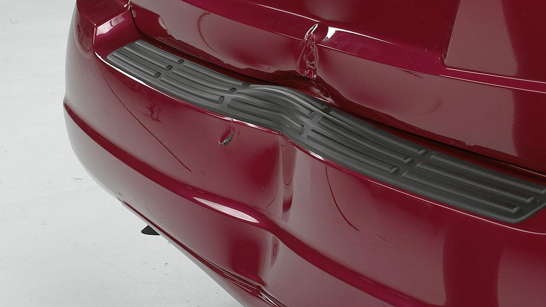 suvs sustain big damage  bumper tests