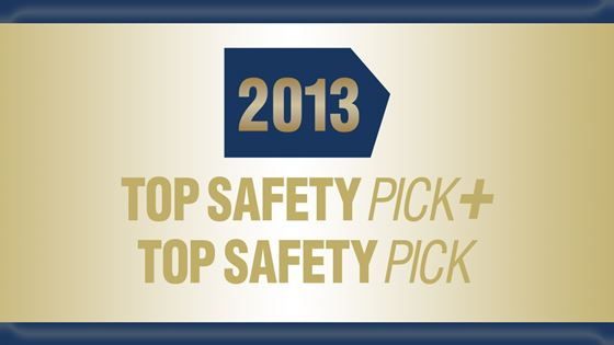 new top safety pick award goes to 13 cars. Black Bedroom Furniture Sets. Home Design Ideas
