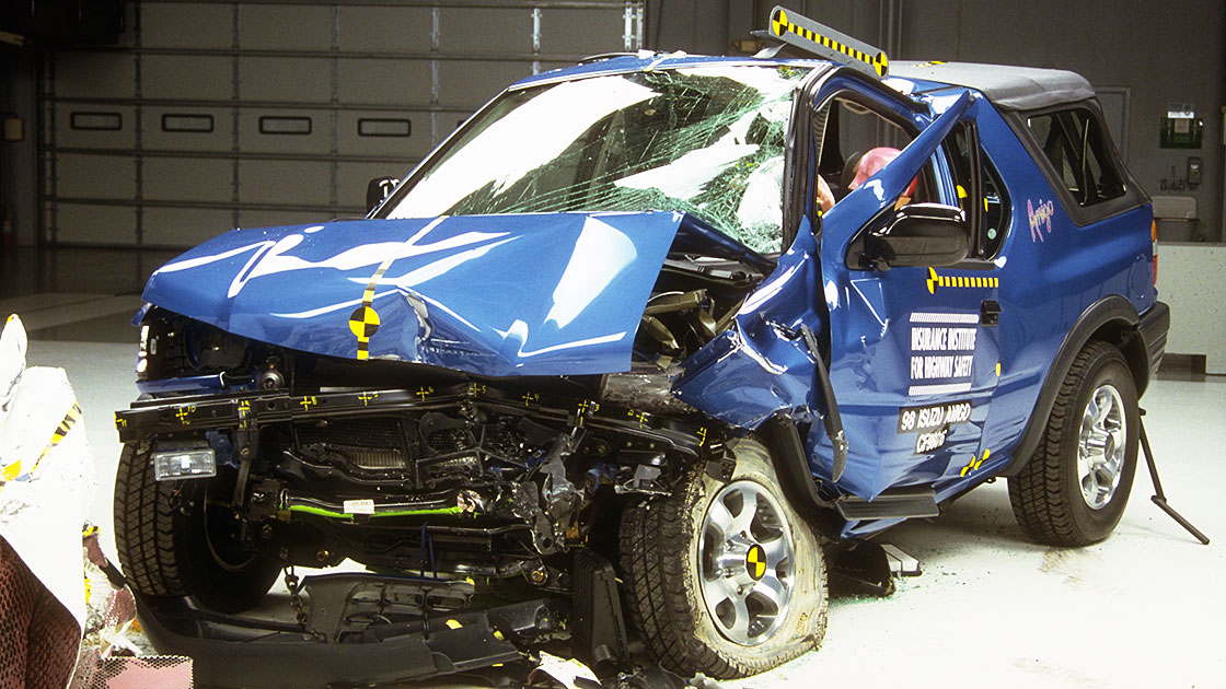Iihs Safety Ratings >> Small SUVs range from good to poor in crash tests