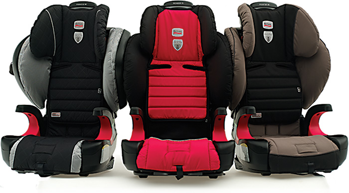 Britax highback boosters