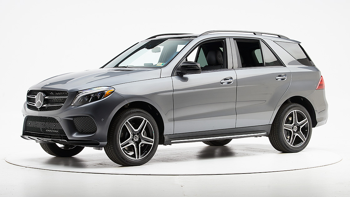 ARLINGTON, Va. U2014 The Mercedes Benz GLE Class Moves Up A Step In The  Insurance Institute For Highway Safetyu0027s Awards After Earning A Good Rating  In The ...