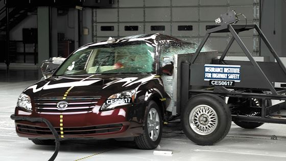 Iihs Safety Ratings >> Impala, Avalon are top large cars in side crash test