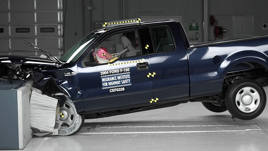 High Sd Crash Test Resultsnew Ford Pickup Minivan Are Best Picks F 150 Shows Dramatic Improvement