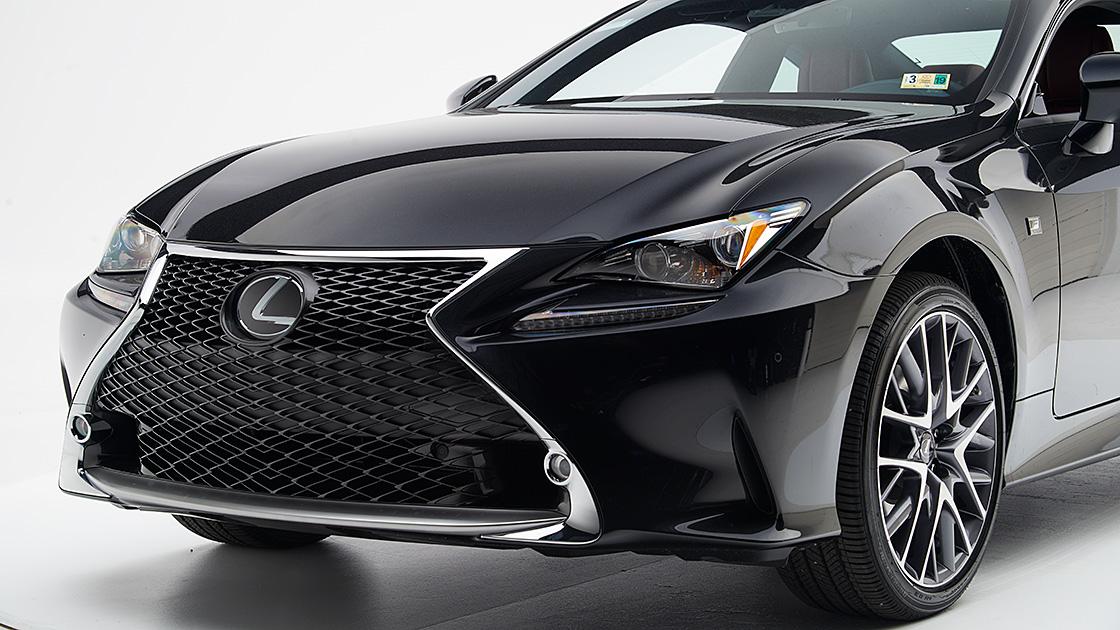 Lexus Rc Earns Highest Award
