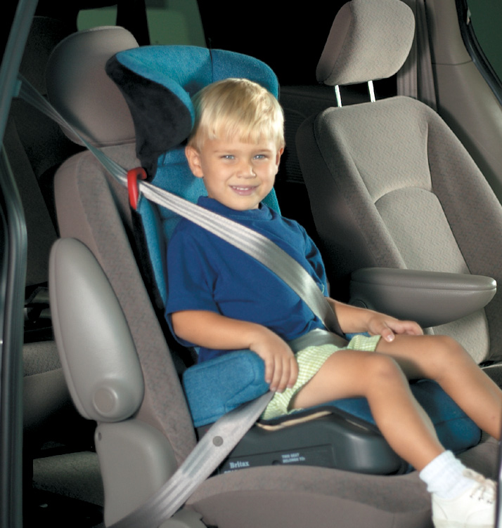Child in better booster seat