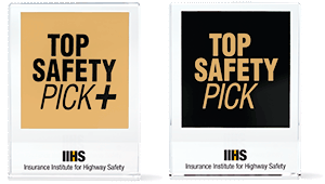 TOP SAFETY PICK and TOP SAFETY PICK+ awards