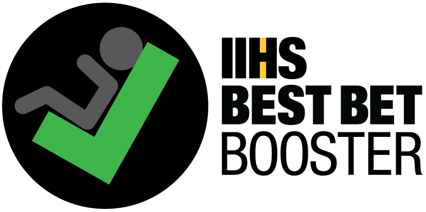 IIHS best bet booster logo