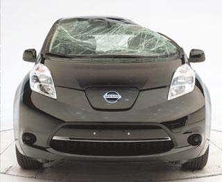 Nissan Leaf Roof Strength Test