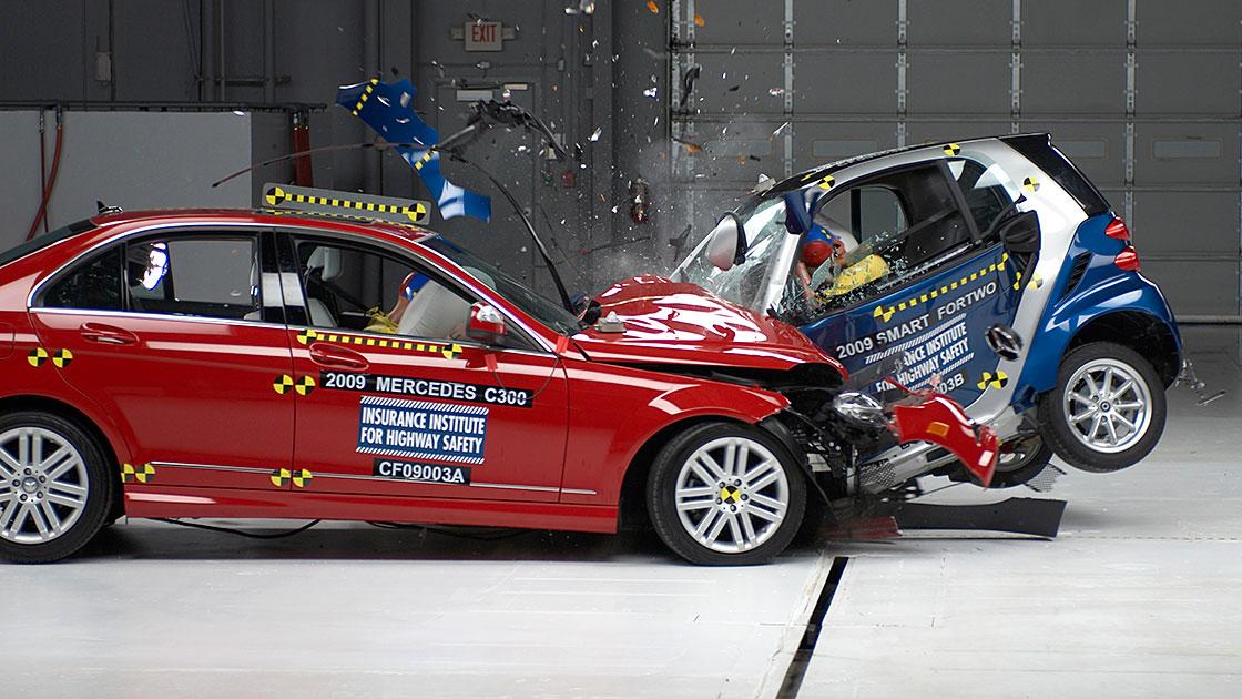 Vehicle Crash Testing Crash Tests Show How Vehicle