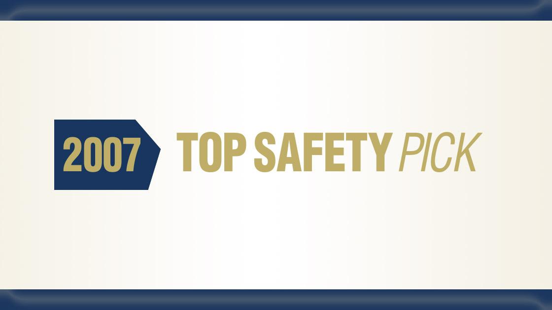 award criteria get tougher for 2007 top safety pick. Black Bedroom Furniture Sets. Home Design Ideas