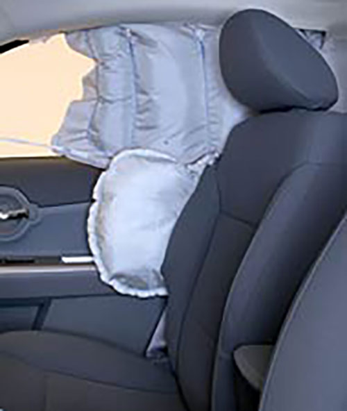 Head-protecting curtain airbag