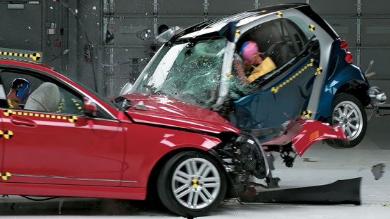 Midsize Crash Tests Show Importance Of Vehicle Size Weight