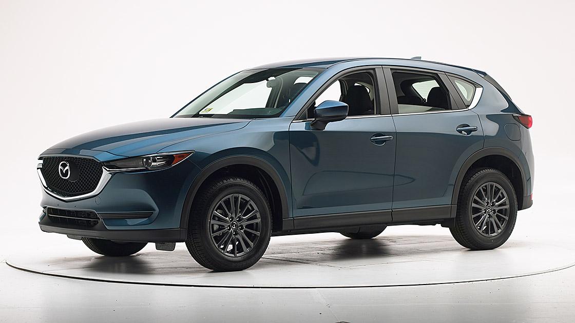 Mazda CX-5 earns Top Safety Pick+ award