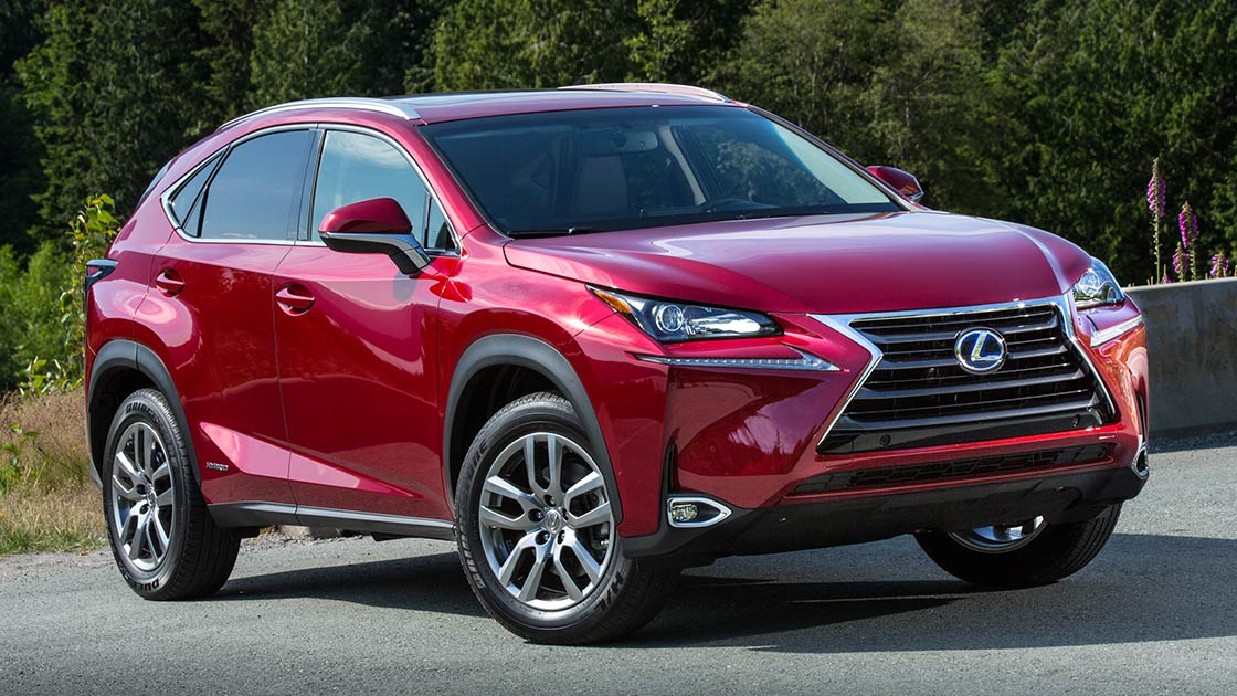 Lexus NX is a Top Safety Pick+