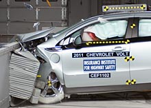 Chevrolet Volt frontal offset test