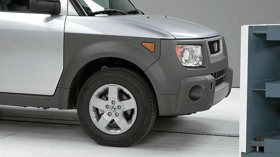 The 2003 Honda Element A Small Sport Utility Vehicle Thats New For Model Year Performed Reasonably Well In 5 Mph Crash Tests