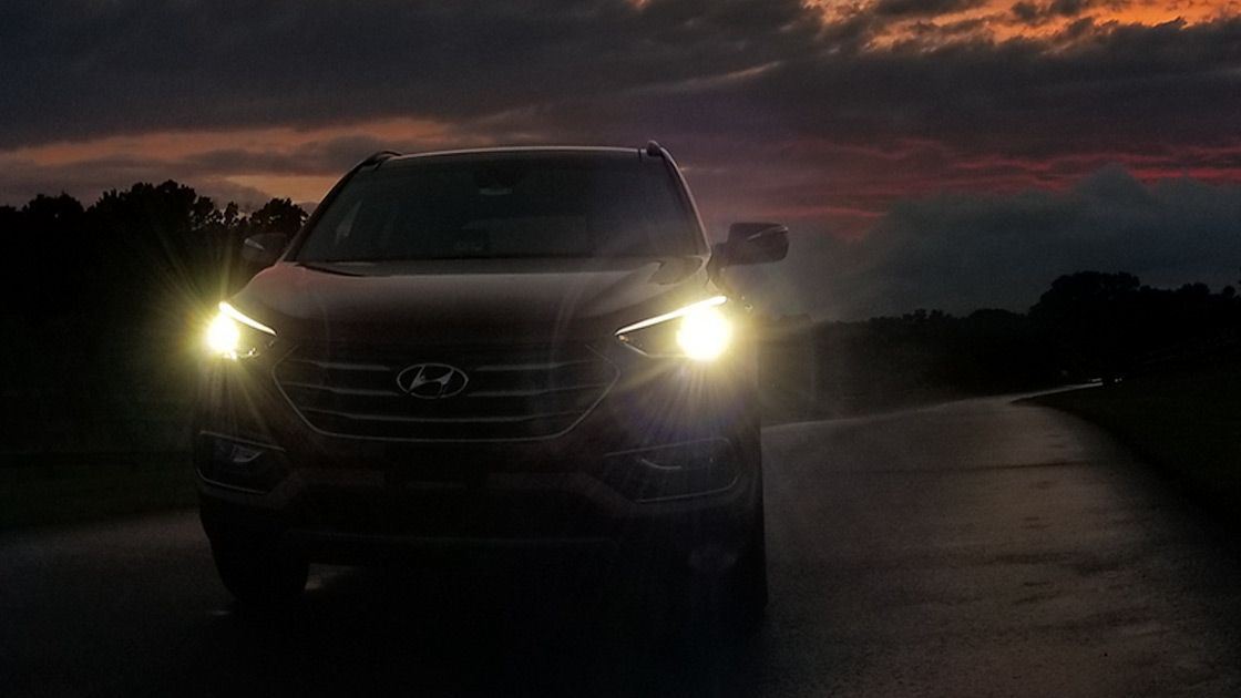 Santa Fe Suv >> Most midsize SUV headlights are marginal or poor