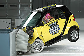 Smart Fortwo Frontal Crash Test