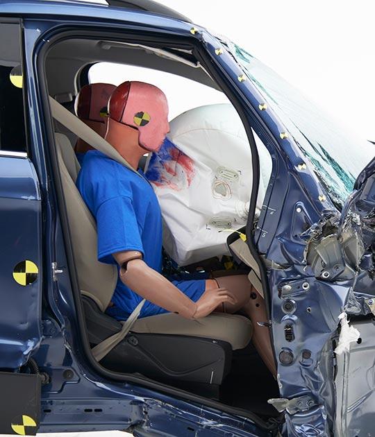 Ford Escape occupant compartment