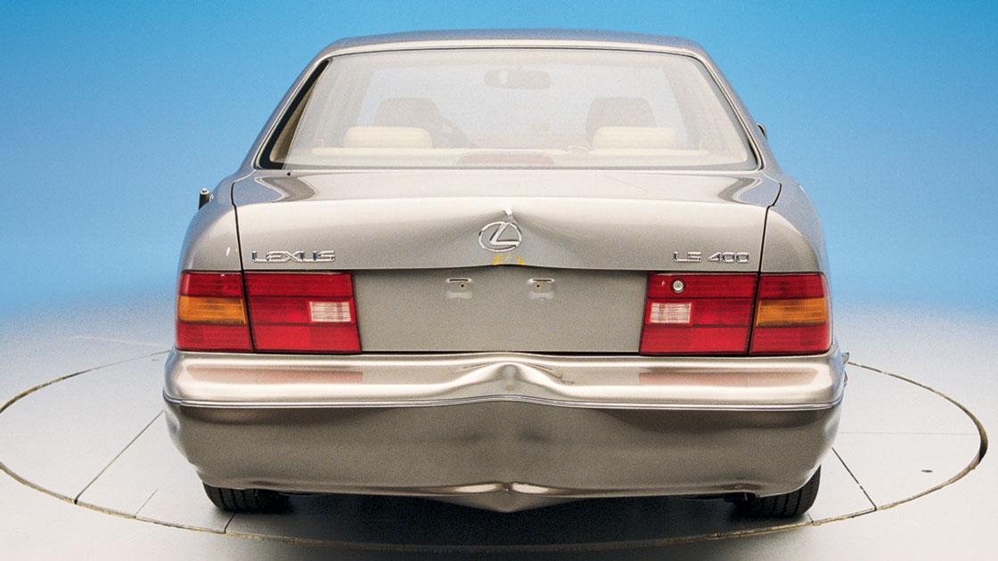Lexus And Mercedes Bumpers Aren T Luxurious