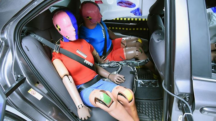 Better restraints needed in back seat