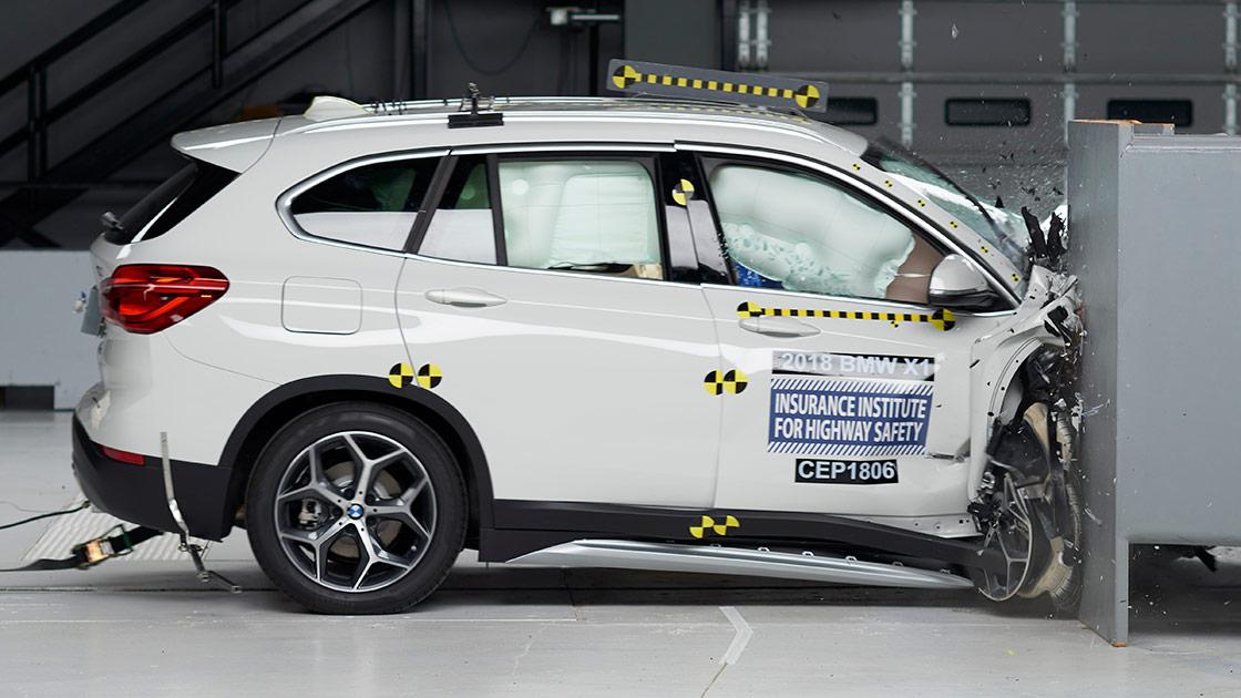 New passenger-side ratings for 7 small SUVs