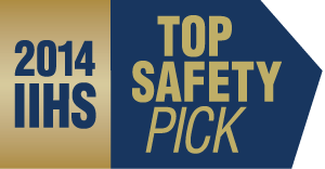 2014 TOP SAFETY PICK logo
