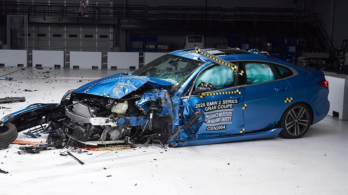 New BMW model performs well in crash tests
